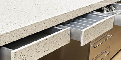 Caesarstone Drawer Front canberra