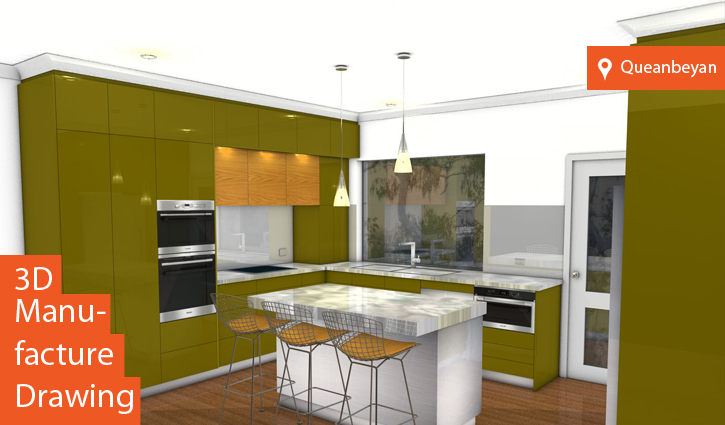 Kitchen Render Canberra